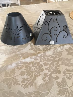 Small metal shades lamps for Sale in Riverside, CA