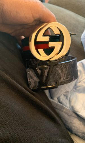 Gucci and lv supreme belt for Sale in Antioch, CA