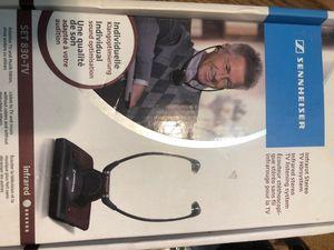 New Infrared stereo TV listening system sennheiser for Sale in Sterling, KS