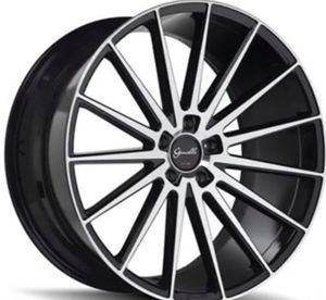 "20"" GIOVANNA VERDI Wheels & Tires Limited Time Offer Package Deal Gloss Machine Black or Gloss Silver Rims and Tires From .......$1299 for Sale in La Habra Heights, CA"