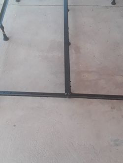 Adjustable and folding metal bed frame for Sale in Boise,  ID