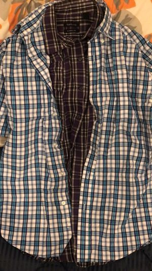 2 Mens shirt (Half sleeve, M classic fit) for Sale in Norman, OK
