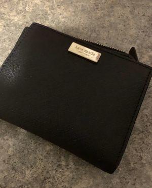 Kate spade black trifold wallet new 45 for Sale in Berwyn, IL