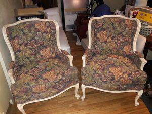 Chairs Accent French Ethan Allen Vintage Clean Good Condition Normal Aging. Thanks for Sale in Federal Way, WA
