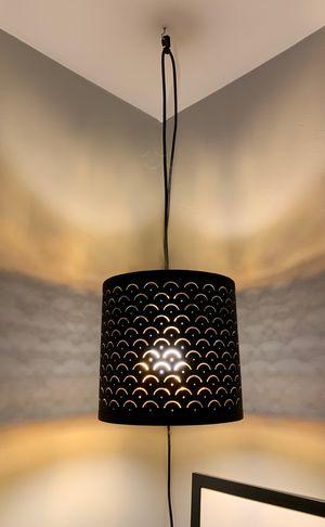 ikea black/brass lamp shade w/ hanging cord for Sale in Chula Vista, CA