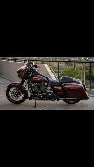 2018 Harley Street Glide Special Parts (all black from factory) for Sale in Fairfax, VA