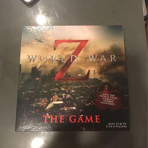 World War Z Board Game for Sale in San Jose, CA