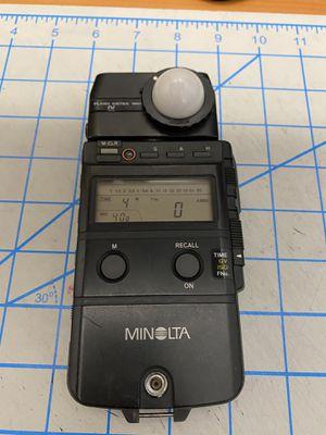 Minolta Flash Meter IV for Sale in Buena Park, CA