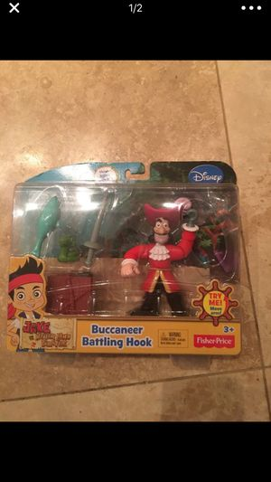 Capitan hook, fisher price, brand new for Sale in New Port Richey, FL