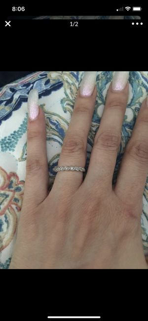14k diamond band 4.5 for Sale in San Jose, CA