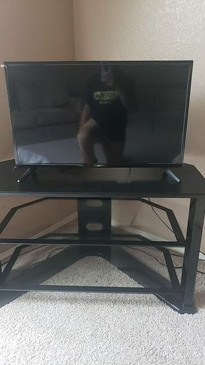 TV and stand both new for Sale in San Antonio, TX