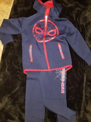 Kids Spiderman jogging suit for Sale in St. Cloud, MN