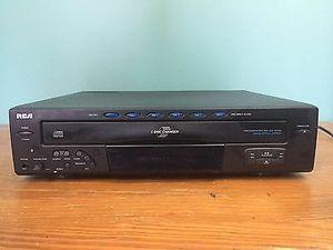 Rca 5 disk cd player for Sale in Mount Laurel, NJ