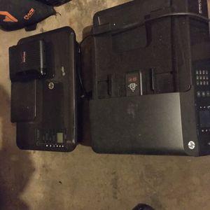 Two HP Ink Jet Printers + Verizon Router for Sale in La Mesa, CA