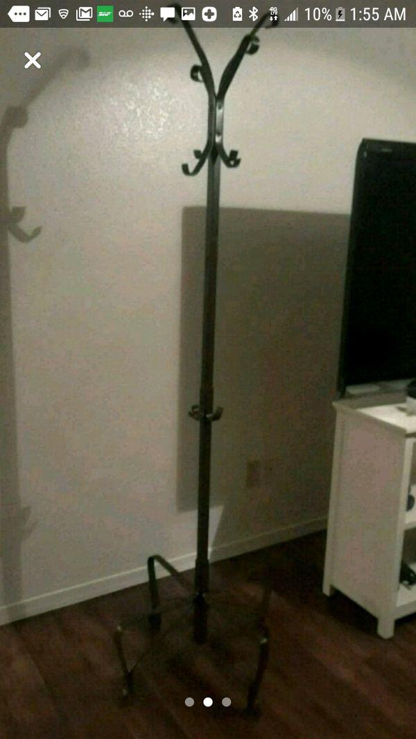 ***Ikea portis coat rack (metal)***