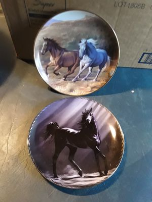 2 horse plates for Sale in Linden, PA