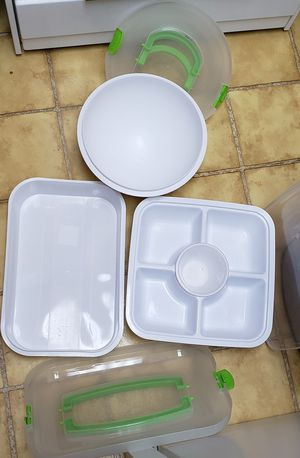 3 Separate Plastic Storage Container Sets for Sale in St. Louis, MO