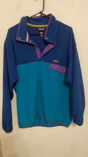 Patagonia synchilla fleece sweatshirt for Sale in West Palm Beach, FL