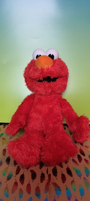 Elmo Talking and Vibrating 14 inch Plush Toy for Sale in Santa Ana, CA
