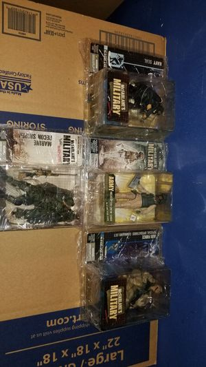 Mcfarlane military figures for Sale in Seffner, FL