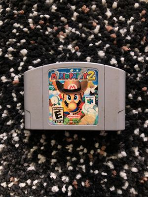 Mario Party 2 Nintendo 64 N64 for Sale in Washington, DC