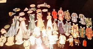 Vintage/antique(?) Paper dolls for Sale in Tacoma, WA