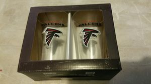 Duck House Atlanta Falcons Highball glass set , brand new in box for Sale in Los Angeles, CA