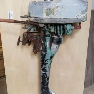 ANTIQUE 1948-1952 ELGIN (SEARS) OUTBOARD MOTOR 1 1 /4 HP SEARS MODEL 301-3601 ANTIQUE OUTBOARD MOTOR. For Parts Or Repair. Asking $100.00 for Sale in Bakersfield, CA