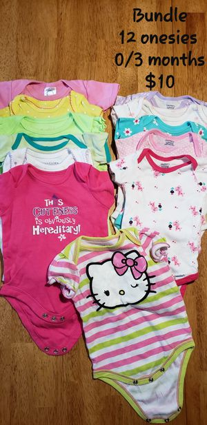 Baby girl shoes, pjs & onesies for Sale in PA, US