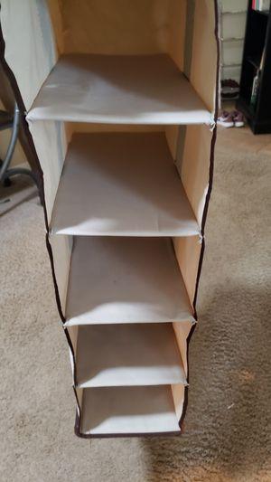 Closet organizer 5 shelf for Sale in Elk Grove, CA