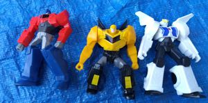 McDonald's Transformers Toys Action Figure Lot Hasbro for Sale in Pasadena, CA