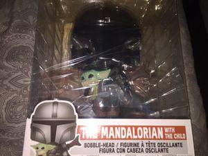"Funko POP! Star Wars: The Mandalorian - 10"" Mandalorian w/The Child for Sale in Monterey Park, CA"