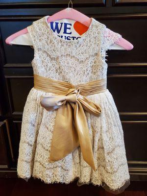 Formal/wedding dress 3T for Sale in Hightstown, NJ