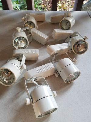 7 Track lights, fixtures for Sale in Stockton, CA