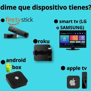 La Mejor Programación Para Smart Tv Firestick Roku Apple Tv for Sale in Chicago, IL