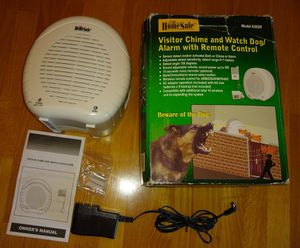 HomeSafe BARKING WATCH DOG chime ring burglar safety security alarm system adt for Sale in Bellevue, WA