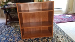 3 Bookshelves, one with3 layers, and 2 with 5 layers for Sale in Marietta, GA