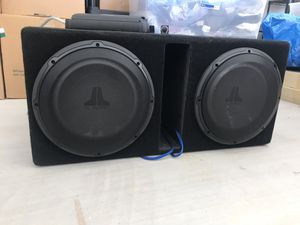 JL Audio Speakers w Alpine amp n bass knob for Sale in Burleson, TX