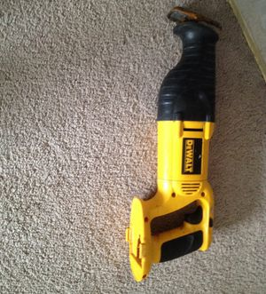 Dewalt saw 18 v work is fine was pay $99.00 for Sale in Stow, MA