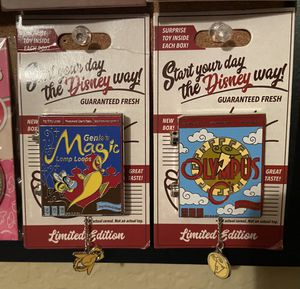 Disney Cereal Box Pin - Limited Edition for Sale in Winter Garden, FL