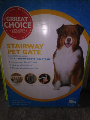 Stairway pet gate for Sale in Stafford, TX