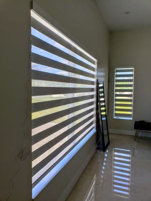 ZEBRA SHADES REGULAR O MOTORIZED CORTINAS Y PERSIANAS ZEBRA SHADES AND ROLLER SHADES for Sale in Olympia Heights, FL