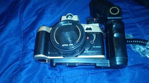 Mitsuba retro camera optical lanes wth dial and flash for Sale in Beverly, MA