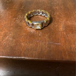 2 Tone Gold And Diamond Ring for Sale in Levittown,  PA