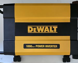 DeWalt 1,000 Power Inverter NEW IN THE BOX for Sale in La Habra, CA
