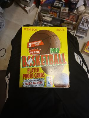 UNOPENED WAX BOX ....75.00 for Sale in Plainfield, IL