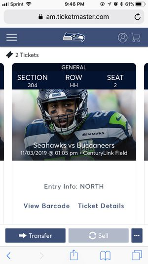 Seahawks tickets for Sale in Beaverton, OR