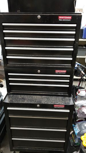 Rolling tool box with drawers for Sale in Orange, TX