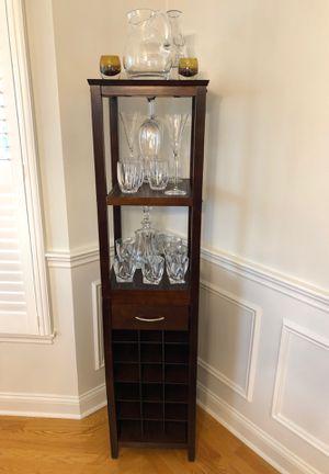 Wine Corner Cabinet for Sale in North Andover, MA