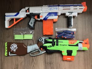 Nerf lot of 6+darts and accessories for Sale in Boston, MA